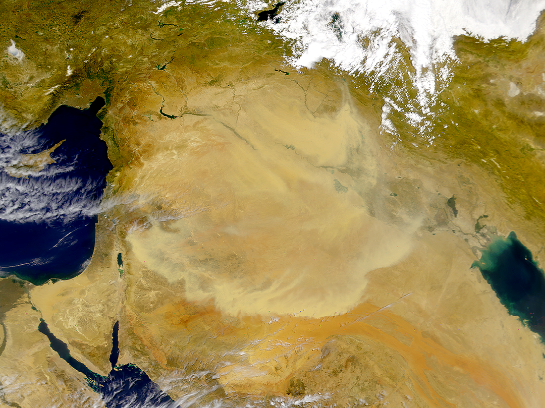 Middle East Dust Storm