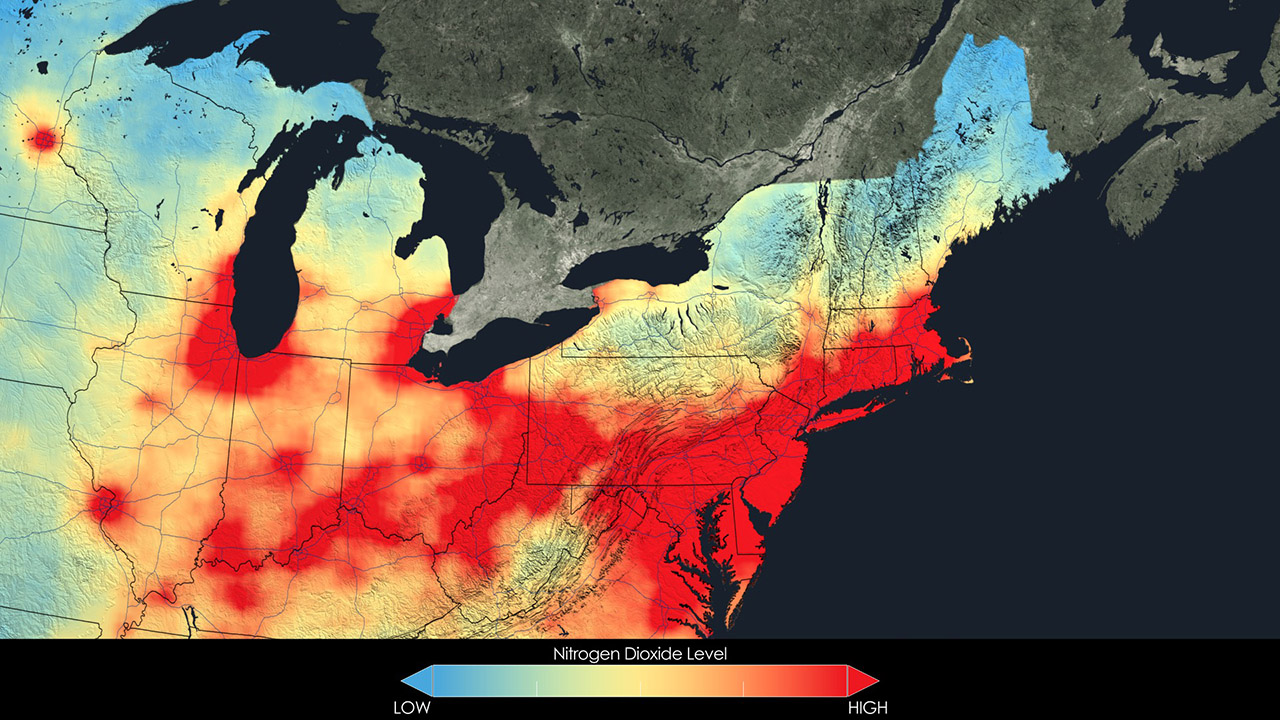 Northeast Air Quality, 2005.