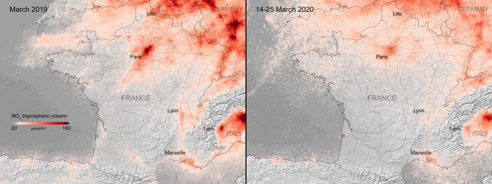 nitrogen dioxide europe